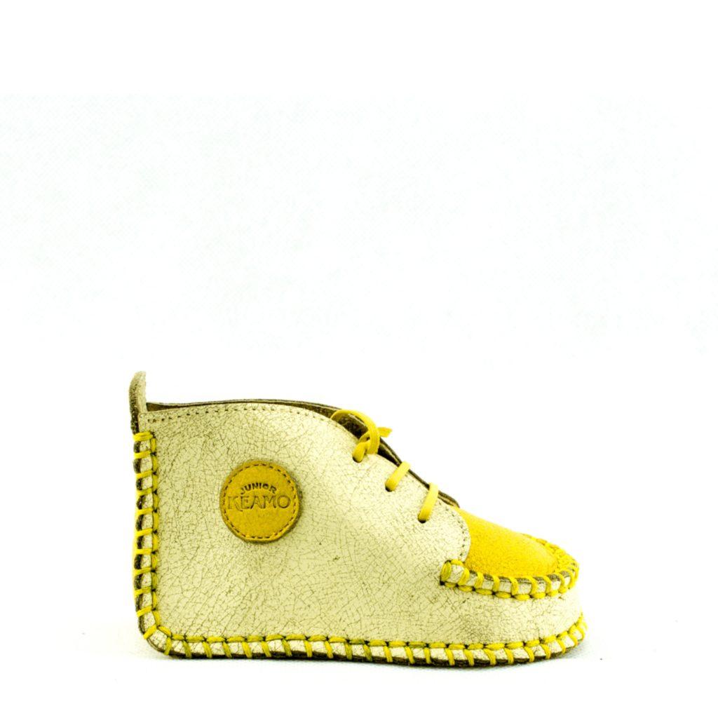 Keamo T01 Bebe shoes Permanent Cuir Toutes les saisons